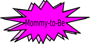 Mommy-to-be Clip Art