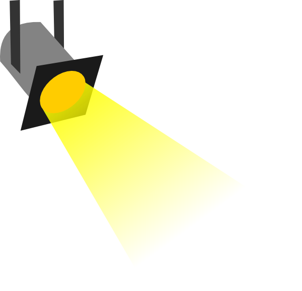 Small Spotlight Clip Art at Clker.com - vector clip art ...