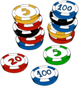 Casino Chips  Clip Art