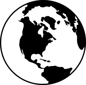 world globe b w clip art at clker com vector clip art online rh clker com globe vector free icon earth globe vector art