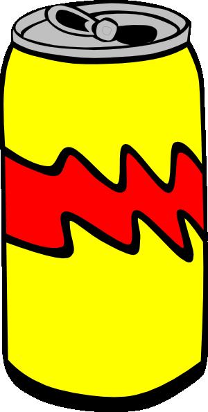 Yellow Pop Can Clip Art at Clker.com - vector clip art ...