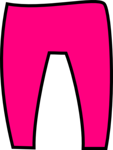 Pink Trousers Clip Art