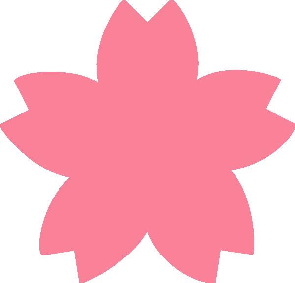 Pink Sakura Clip Art at Clker.com - vector clip art online ...