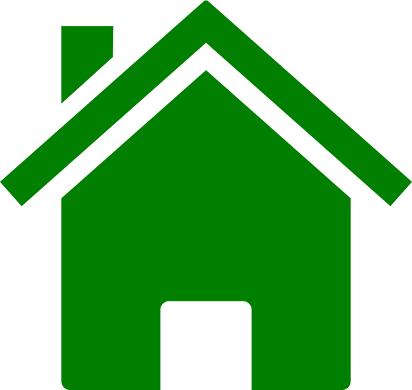 Simple Green House Clip Art at Clker.com - vector clip art online ...