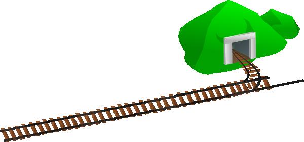 rails clip art at clker com vector clip art online royalty free rh clker com train track clip art border train track clipart