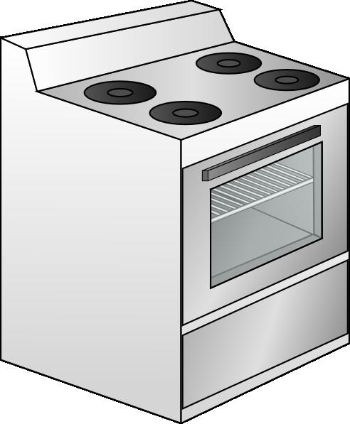 Cooker Clip Art ~ Stove clip art at clker vector online