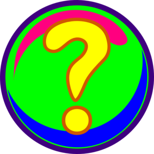 Question Mark Colors Clip Art