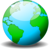 Earth Globe Clip Art
