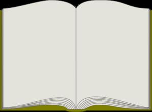 Book Page Clip Art