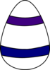 Northwestern Egg 2 Clip Art