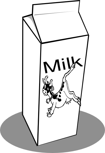 milk carton clip art at clker com vector clip art online royalty rh clker com milk carton clip art free
