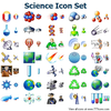 Science Icon Set Image