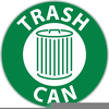 Trash Can Signage Image