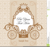 Wedding Invitation Card Clipart Image