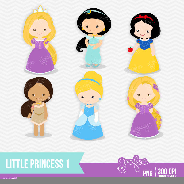 Baby Disney Princesses Clipart | Free Images at Clker.com ...