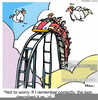 Roller Coaster Rides Clipart Image