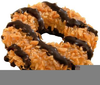 Girl Scout Cookie Clipart Image