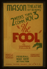The Fool  By Channing Pollock Image