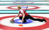 Olympic Curling Clipart Image