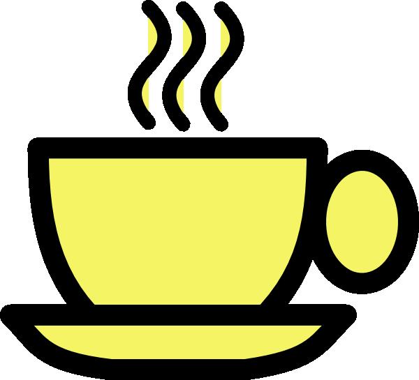 Yellow Tea Cup Clip Art at Clker.com - vector clip art ...