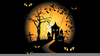 Animated Haunted Houses Clipart Image