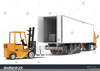 Lorry Clipart Image