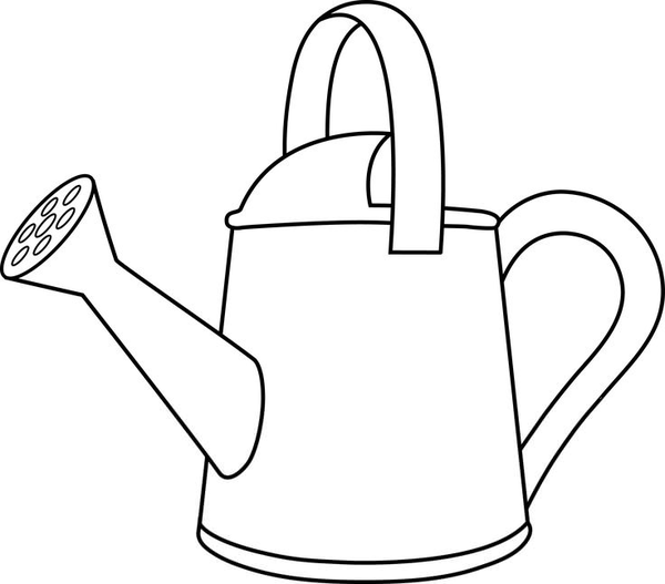 Watering - Can - Clip - Art - Free Clipart Watering Can - Free Transparent  PNG Clipart Images Download