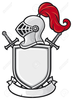 Knight Head And Clipart Image
