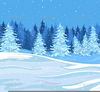 Tree In Winter Clipart Image