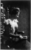 [mrs. Edith Kermit Carow Roosevelt, Three-quarters Length Portrait, Turned Right, Seated, While Reading] Image
