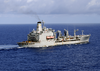 Military Sealift Command Ship Usns John Lenthall (t-ao 189) Steams Away Image