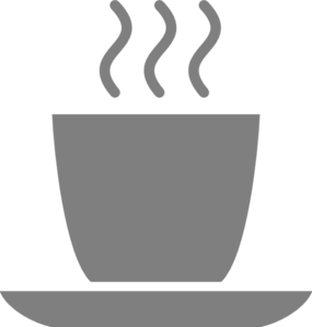Gray Coffee Mug Clip Art