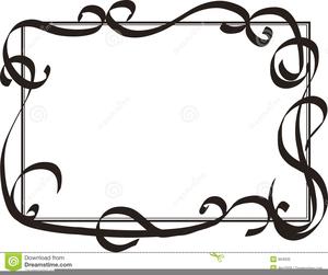 decorative swirls clipart free free images at clker com vector rh clker com Decorative Line Clip Art Elegant Lines Clip Art