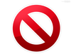 Do Not Symbol Image
