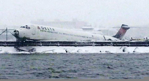 Delta Airlines Crash Image
