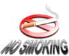 No Smoking (3d) Clip Art