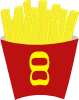French Free Fries Clip Art
