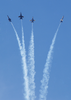 The Blue Angels Perform During The Miramar Air Show. Image