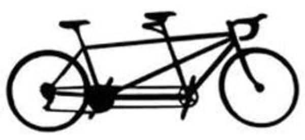 tandem bicycle clip art free - photo #12