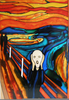 Munch The Scream Clipart Image