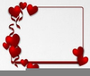 Clipart Valentine Hearts Free Image