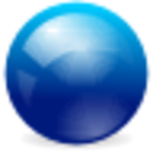 Blue Ball Image