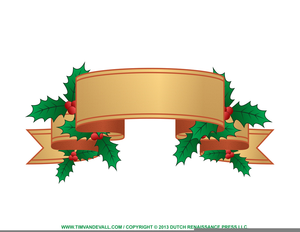Christmas Clipart Label Image