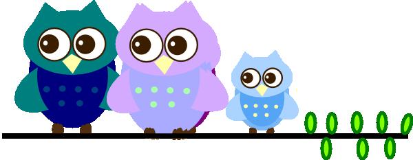 family owl clip art at clker com vector clip art online royalty rh clker com cute owl family clipart owl family on branch clip art