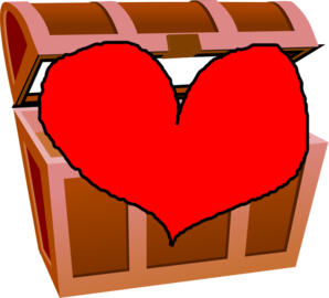 My Heart My Treasure Clip Art