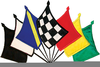 Free Clipart Race Flags Image