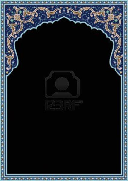 ... Border Design besides Book Border And Frames Designs also Islamic Art