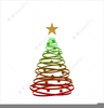 Gold Christmas Star Clipart Image