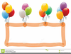 Royalty Free Balloon Clipart Image