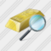 Icon Gold Search Image